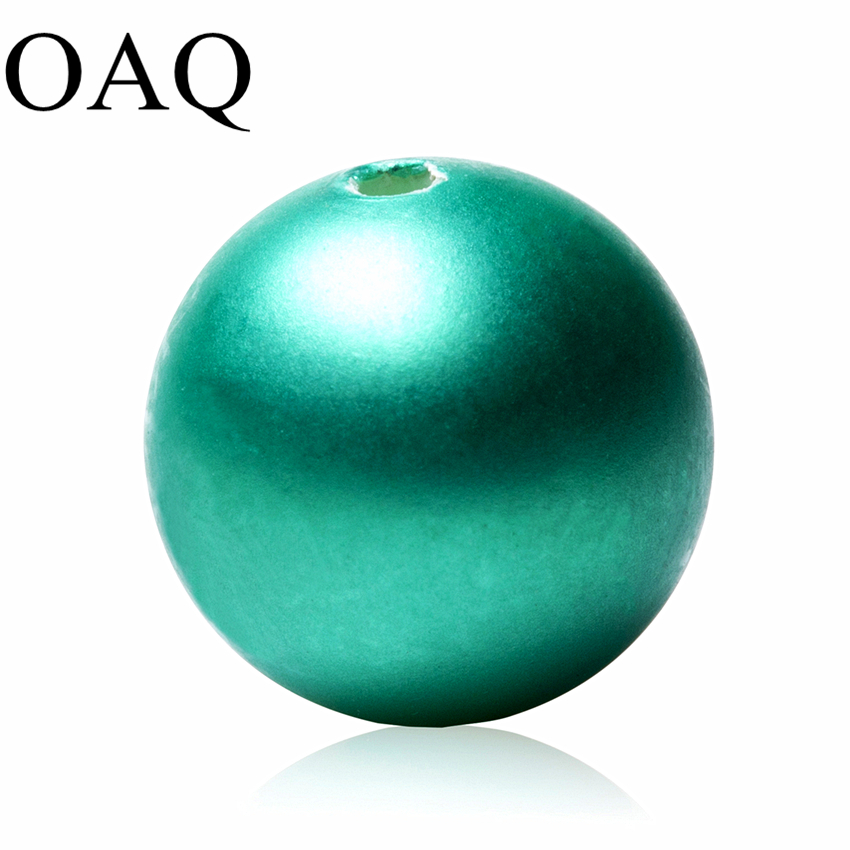 Beads For Jewelry Making Shell Beads For Necklaces JEWELLERY Craft Round Ball Spacer Beads Frosted Green 4-12mm Accessories