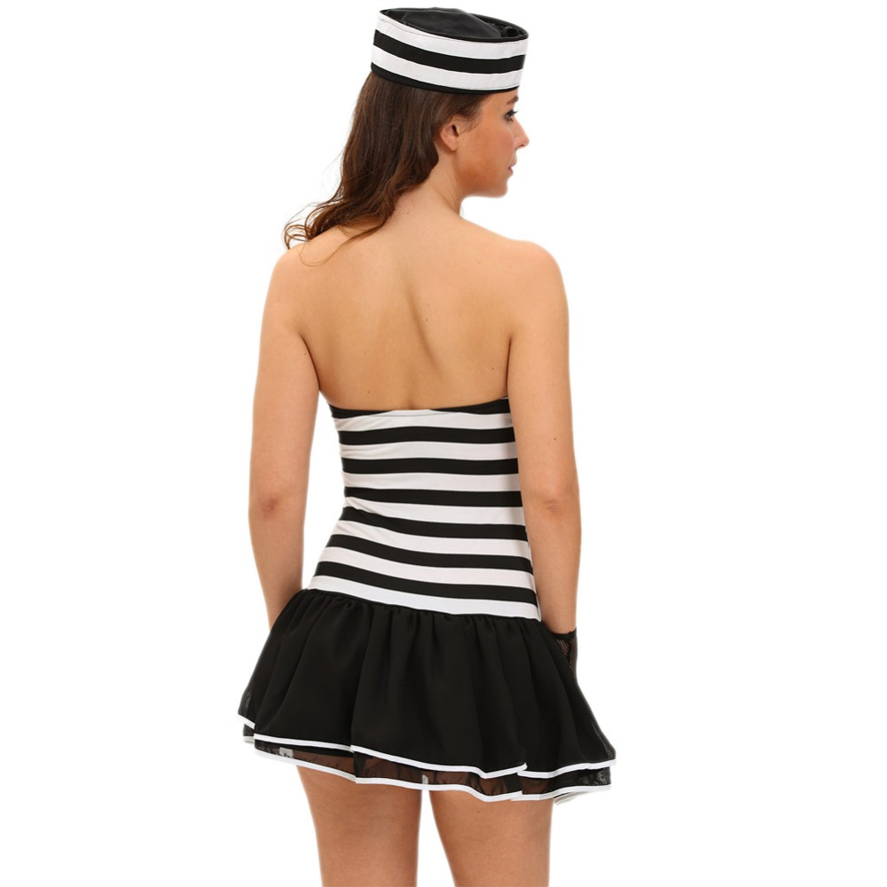 FGirl Halloween Costumes for Women Sexy Adult New Year Costume 4pcs Sexy Guilty Prisoner Costume FG21724-in Sexy Costumes from Novelty u0026 Special Use on ...  sc 1 st  AliExpress.com & FGirl Halloween Costumes for Women Sexy Adult New Year Costume 4pcs ...