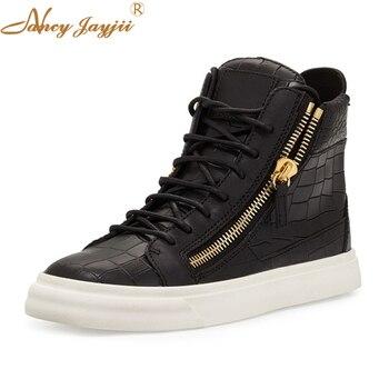 Stan 2018 Summer Jordan Shoes Black White Superstar Shoes Top Quality Side Zipper Flats Casual Rubber Shoe Size 33 47 Nancyjayji jordans shoes all black
