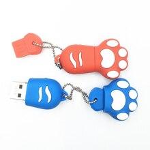 4GB 8GB 16GB 32GB 64GB USB Flash Drive Pet Dog Claw Paw 2 0 Memory Stick