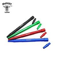 Hornet 280mm aluminun liga mangueira hookah punho para silicone shisha mangueira chicha tubo tubos acessórios