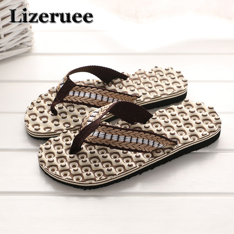 Cheap Summer Men Flip Flops Bathroom Slippers Men Casual PVC EVA Shoes Fashion Summer Beach Sandals zapatos hombre ME274 стоимость