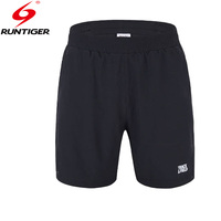 Run Tiger Breathable Loose Sport Shorts Men 2017 New Comfort Fit Dry Quickly Outdoor Black Running