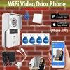 Wireless Wifi 3G Outdoor Waterproof Camera Indoor Bell RFID Card Video DoorPhone Intercom Doorbell For Smartphone