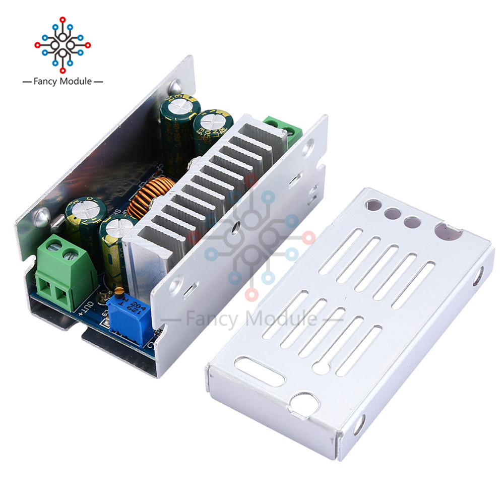 200W 15A DC-DC 8-60V 48V TO 1-36V 5V 12V 24V 19V Buck Converter Step-down Power Module yft carbide end mills diameter 20mm 4 blade tungsten steel router milling cutter hrc 45 cnc tools