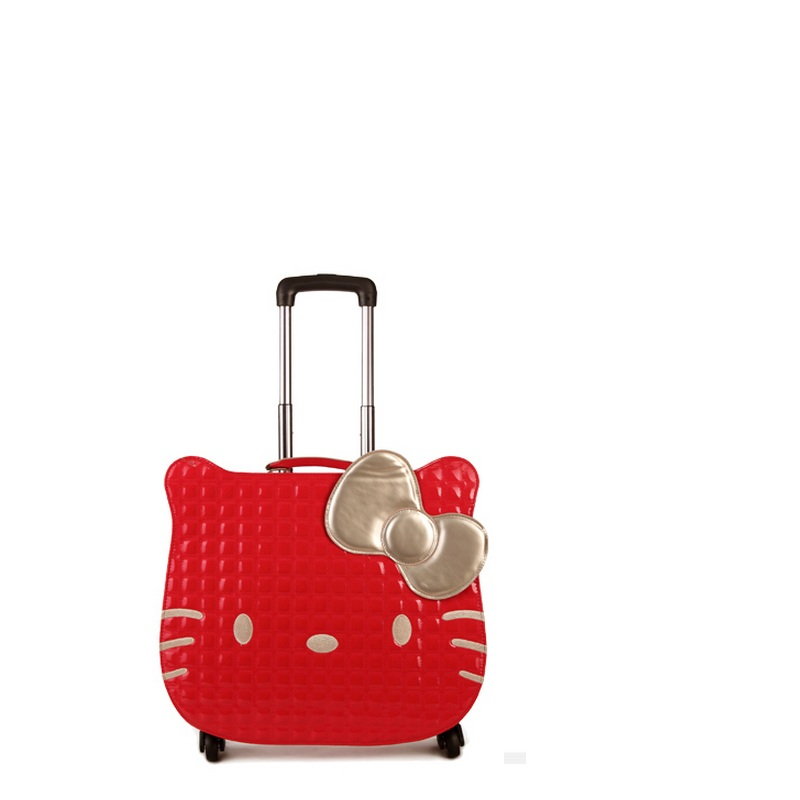 NEW Hello kitty women Girl kids trolley cases luggage 18