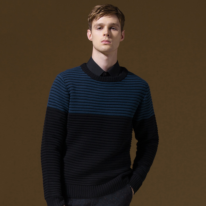 DANDY HOMME brand font b men b font clothing autumn winter long sleeve font b men