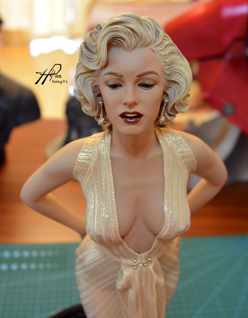 Free Shipping NEW Hot! Sexy Modern Times Goddess Monroe Marilyn blondes1/4 Statue PVC Action Figure Collection Toys Dolls 45cm classic japan anime ah my goddess peorth sexy 1 10 pvc 32cm huge figure toys high quality free shipping