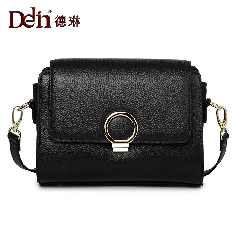 DELIN 2017 new Embossed Leather Handbag Shoulder Bag Fashion all-match Crossbody Bag Small leather 2017 120cm diy metal purse chain strap handle bag accessories shoulder crossbody bag handbag replacement fashion long chains new