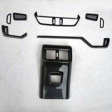 for toyota rav4 rav 4 xa50 2019 2020 Garnish Air Vent Trim Cover interior accessories parts plastic carbon fiber цены