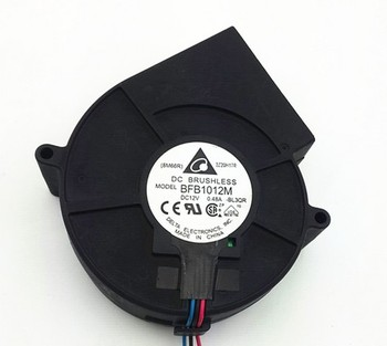 Free Delivery. BFB1012M 9733 12V 0.48A Genuine ultra-quiet turbine centrifugal blower image