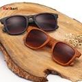 RoShari Vintage women Sun glasses men Bamboo Wooden Frame Sport men sunglasses women brand designer gafas oculos de sol T39