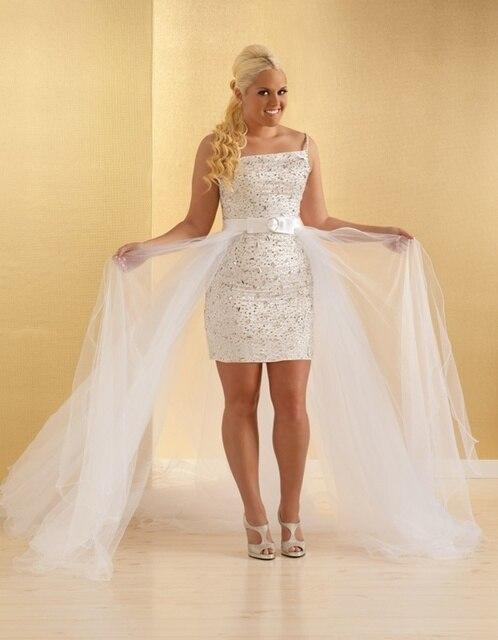 Rhinestone Bridal Reception Dress