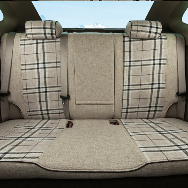 CARTAILOR Quality Car Seat Cover Fit For BMW X6 Seats Covers Interior Accessories Set Linen Cloth New Styling Cushions