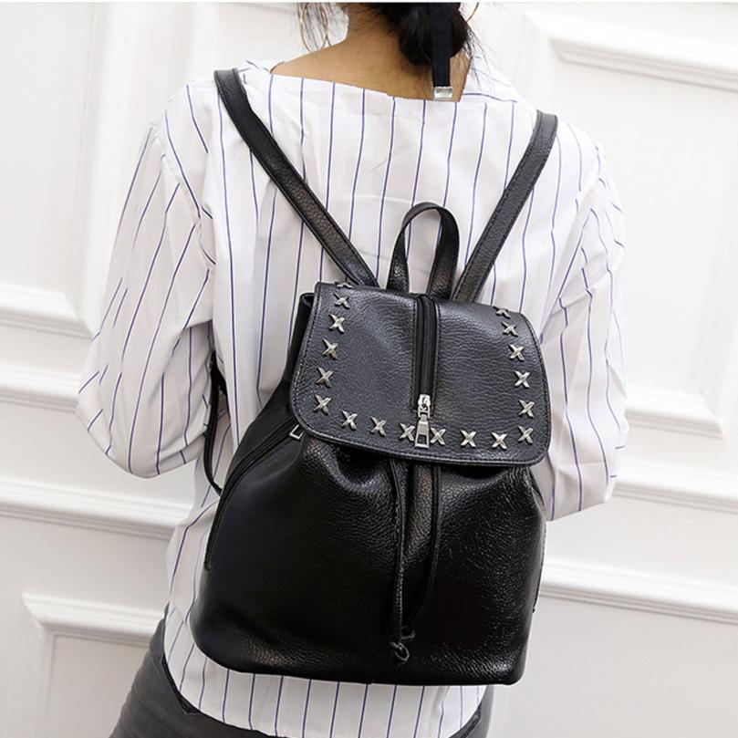 maison Backpacks high quality Leather girl Fashion Zipper Rucksack Travel School Shoulder Satchel backpack women 2018MA8