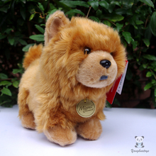 Cute Simulation Plush  Chow Chow Doll Toys Children  Gift Stuffed Animal Dogs Toy Girls