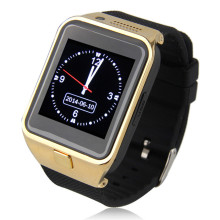 Smart watch bluetooth gv09 smartwatch mini kamera fm radio sim-karte für iphone android smartphones handys