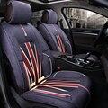 3D Автомобиля Сиденья Подушки Лен Стайлинга Автомобилей Для Toyota Corolla RAV4 Prius Прадо Highlander Sienna zelas verso Mark X корона