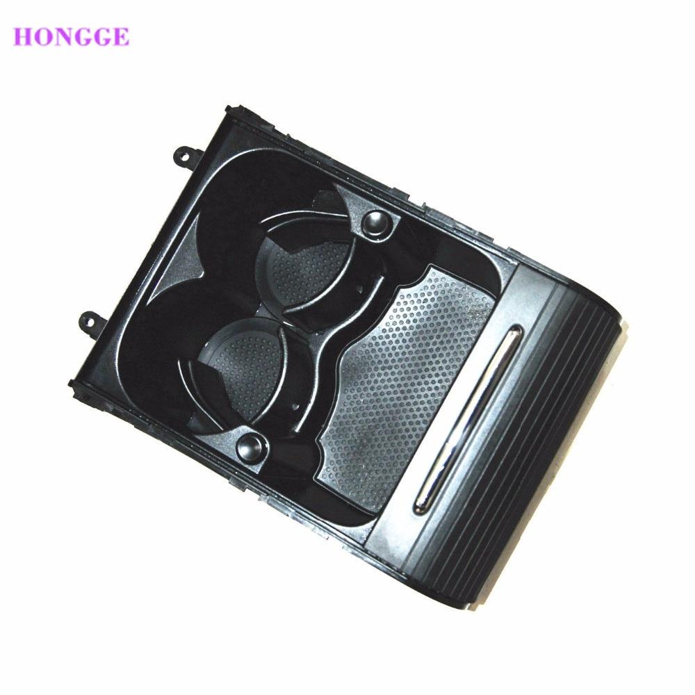 HONGGE Noir Avant Accoudoir Console Porte-Gobelet De Voiture Avec Couvercle Rabattable VW Passat 3C B6 B7 CC 3CD 858 329 Un 3CD858329A 3CD 858 329A
