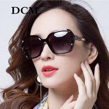DCM Fashion Oversized Square Sunglasses Women Summer Gradien