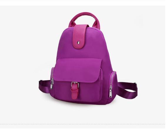 Libero Blue Donna Red Chaozhou Black Zaino rose Purple Per Nuovo dark Tempo All'aperto violet All'usura Impermeabile E Spalla Resistente Il Di Sacchetto Nylon Coreano Borsa navy xaOIgq
