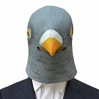 Free Shipping Creative Halloween Animal Masks Lovely Latex Dove Retaining Cap Fancy Ball High end Funny Masks Entertainment Item
