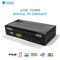 Vmade DVB ATSC Q1 Digital Terrestrial TV Receiver DVB TV Tuner Support PVR MPEG 2/4 H.265 DVB Set top Box HD 1080p Sales USA