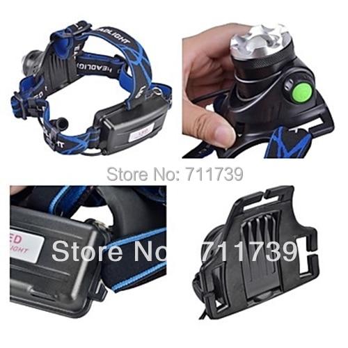 Alonefire hp79 CREE XM-L2 LED 3800 люмен Перезаряжаемые Увеличить фар Светодиодные фары Cree для 2x18650 Батарея