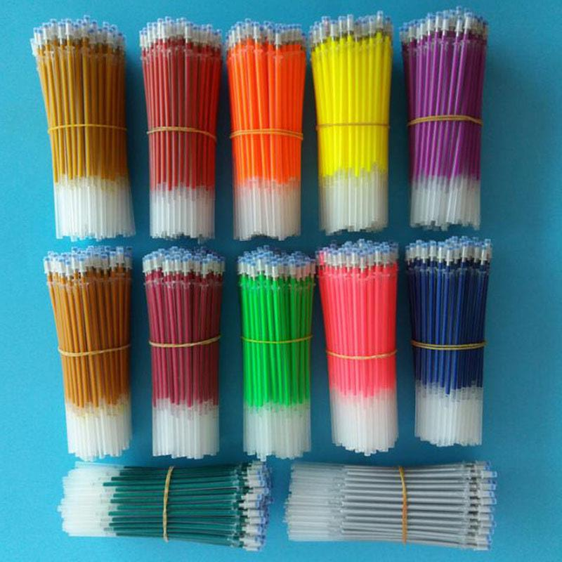 20pcs Color Refill 12 Color Fluorescent Refill Flash Refill 1.0mm Child Student Painting Stationery School Office Supplies
