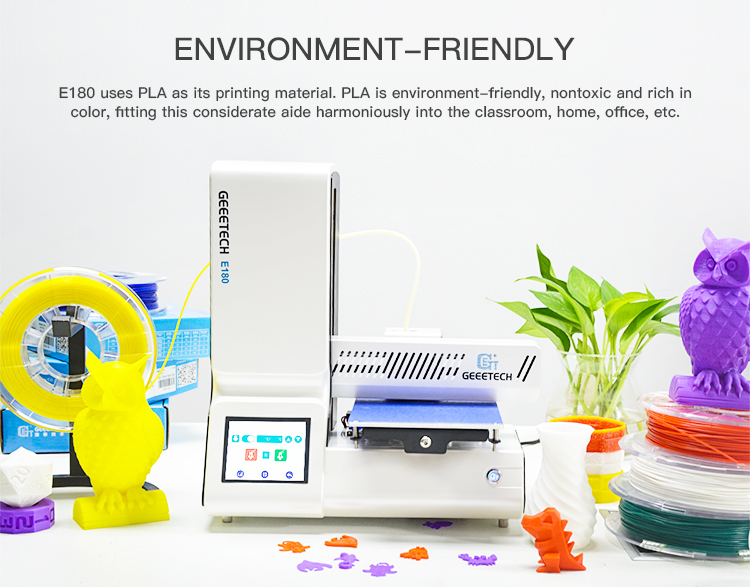 Geeetech E180 3D Printer With Full Colour Touch Screen And Wifi Connectivity 15