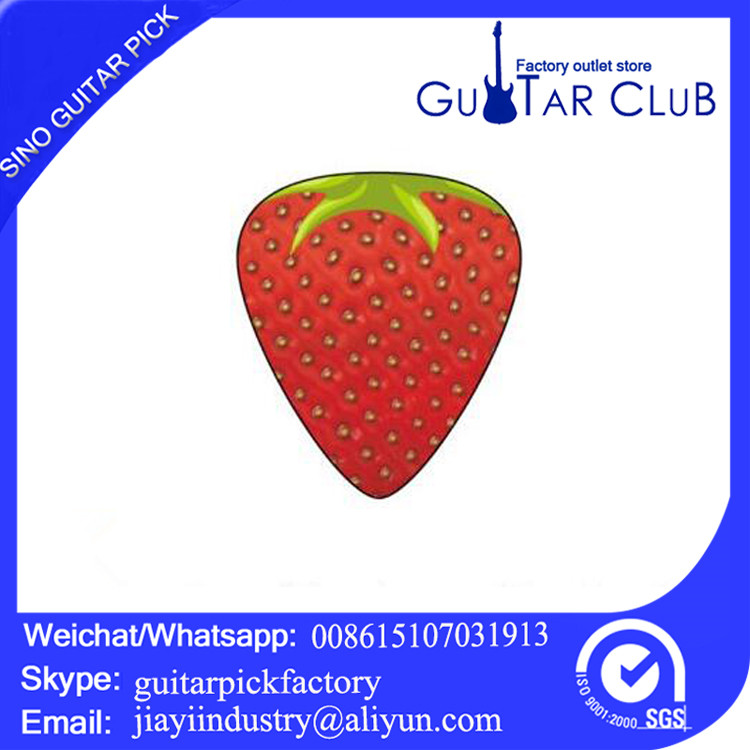 Free shipping Hot New Products strawberry Guitar Pick Cases with Quality Assurance guitar plectrum