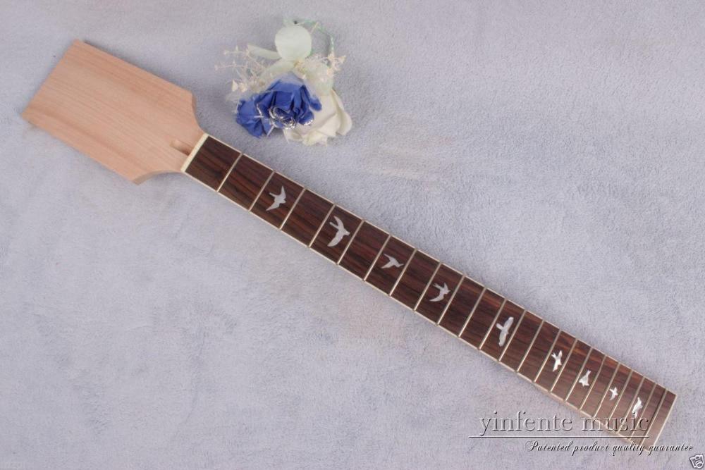 1pcs Electric guitar neck 22 fret Mahogany rose wood Fretboard Truss Rod #883 new electric guitar neck maple wood 22 fret 24 75 truss rod bird inlay 767
