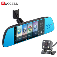KAILUKE 7 3G Special Mirror Rearview Car DVR Car Camera Dual DVRs Android 5 0 GPS