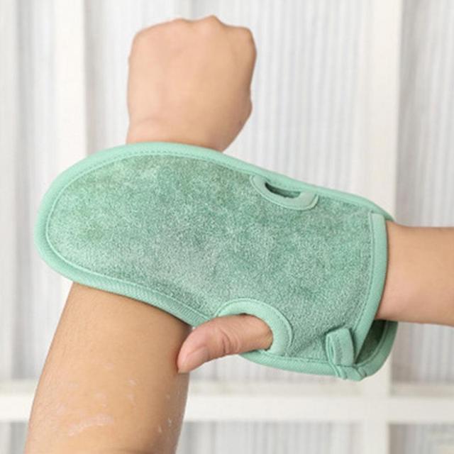 2018 Nuovo Unisex Mitten Mitt Glove Bagno Doccia Scrub Corpo Esfoliante Rimuover