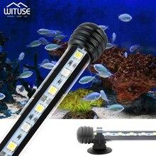 Waterproof Aquarium LED Light beautiful Fish Tank LEDs Submersible Underwater Clip Lamp Aquatic Decor 19cm 28cm 38cm 48cm