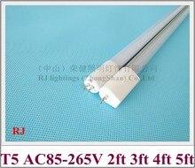 LED tube T5 G5 fluorescent tube light LED bulb tube 600mm 900mm 1200mm 1500mm WW/CW clear/frost driver inside AC85V-AC265V input