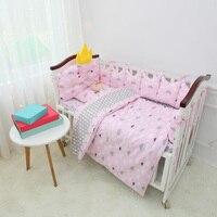 Детская кроватка Организатор Детские колыбель кровать бампер Постельное белье для мальчиков и девочек детская кроватка Постельное белье х