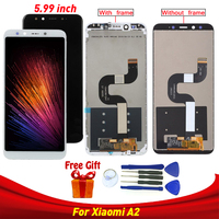 For Xiaomi Mi A2 Mi 6X lcd display screen replacements For Xiaomi MI 6X MI A2 display lcd screen replacements modules