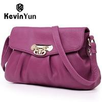 2014 Fashion Genuine Leather Bag Lady Bolsos Casual Women Messenger Bags Small Female Shoulder Bag