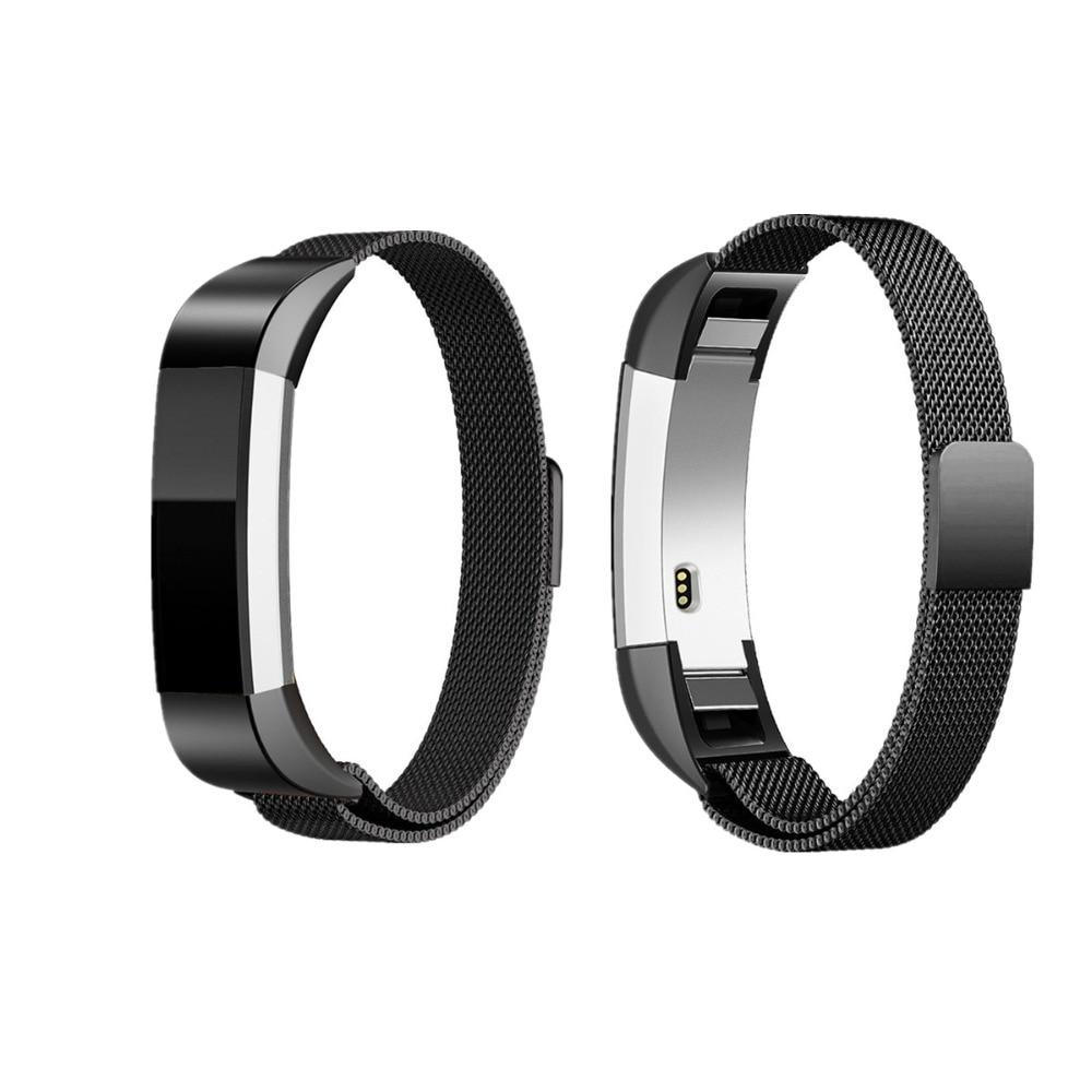 LNOP Milanese loop per Fitbit Alta/fascia Alta HR Serratura Magnetica wristband fitbit sostituzione Banda In Acciaio Inossidabile Cinturino in metallo