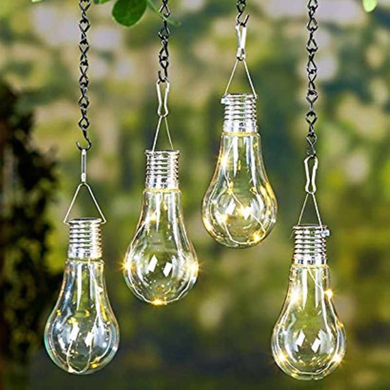 Led Solar Light Bulb Outdoor Waterproof