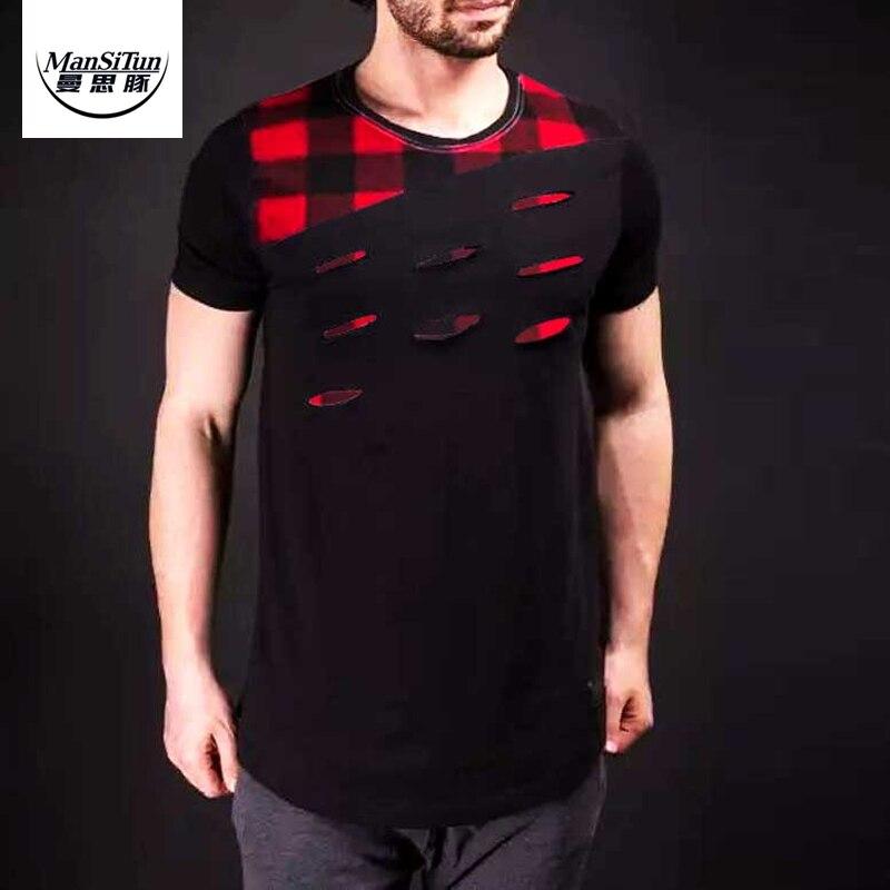 Online Get Cheap Mens Distressed Tee Shirts -Aliexpress.com ...