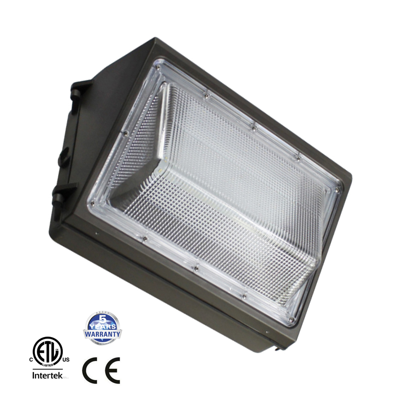 100-277V 60W 80W 100W 120W LED Wallpack Light HPS/HID Replacement, Outdoor Wall Pack Surface Mounted Lamp ETL Listed цена и фото