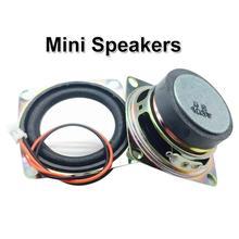 2 дюйма 4ohm 3W полный спектр мини Динамик для стерео звук Динамик коробка аксессуары «сделай сам»