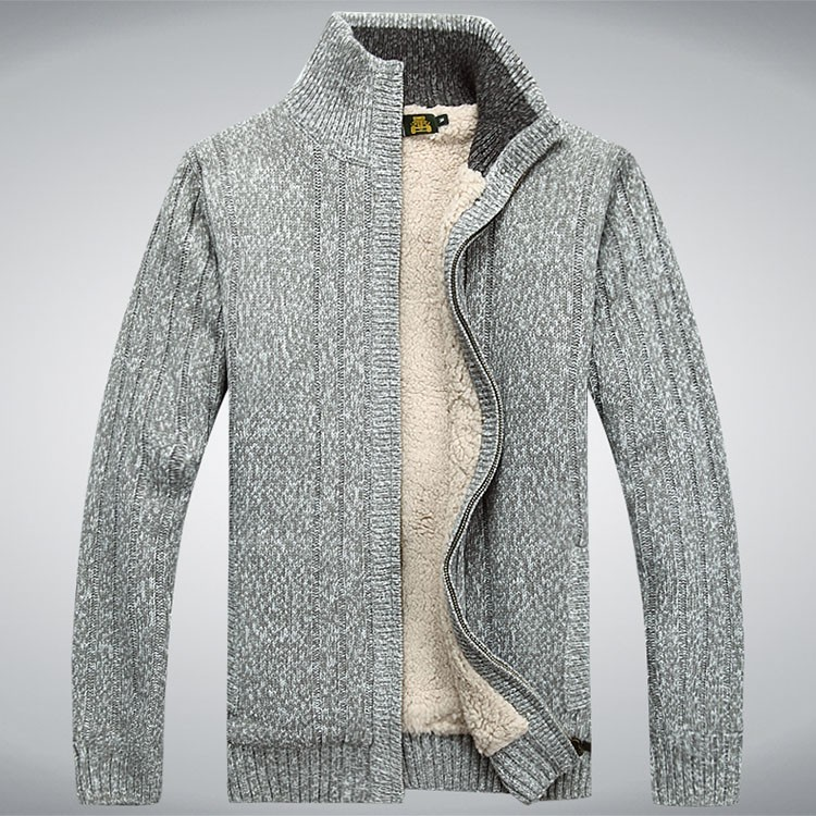 Aolambgs Sweater Men Autumn Winter Wool Thick Male Cardigan 2016 Fashion Brand Clothing Outwear Knitting Sweter Hombre M-3XL (2)