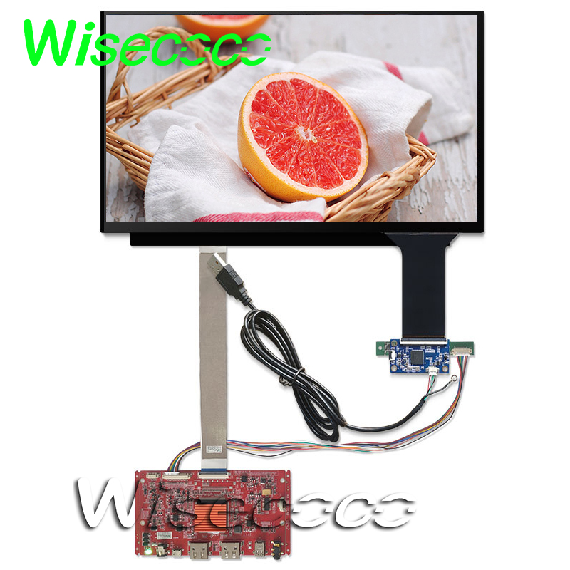 13.3 Inch 4K UHD lcd display  3840*2160 with touch panel HDMI DP controller board EDP 40 pin for PS4 XBOX PC raspberry pi 3