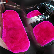 Universal Automobile Wool Fur car seat cover set for adult L