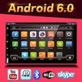Quad Core Android 6.0 2din Автомобилей Без Dvd-плеер GPS ПК для Toyota Tiida Qashqai Солнечный X-Trail Паладин Frontier Patrol Versa Livina