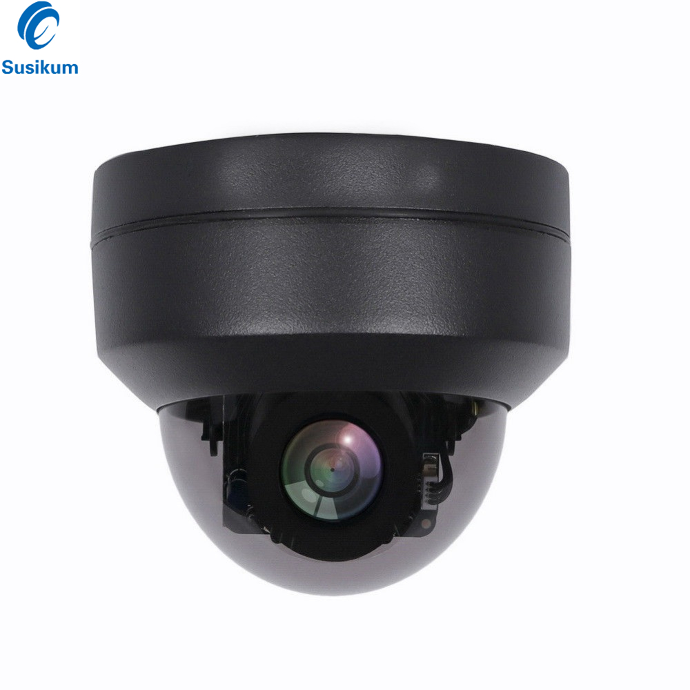 5MP PTZ Dome Mini Camera 2.8-12mm Motorized Lens Waterproof Outdoor Surveillance POE Security Camera5MP PTZ Dome Mini Camera 2.8-12mm Motorized Lens Waterproof Outdoor Surveillance POE Security Camera