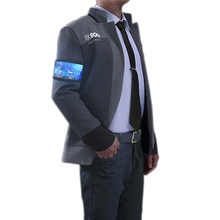Detroit: Become Human Connor Bionic Uniform Cosplay Costume For Male Suits Costumes  Coat Jacket